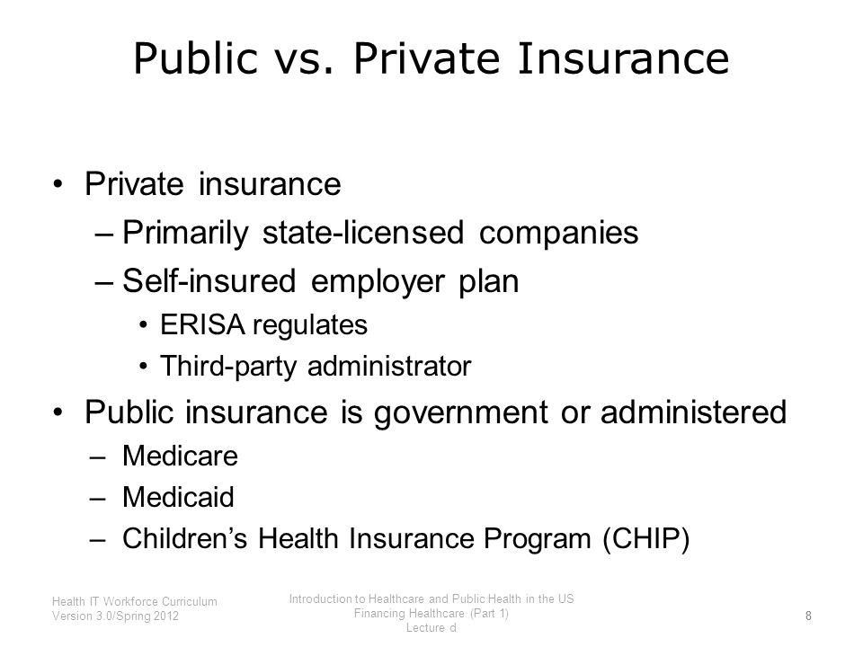 public vs private healthcare