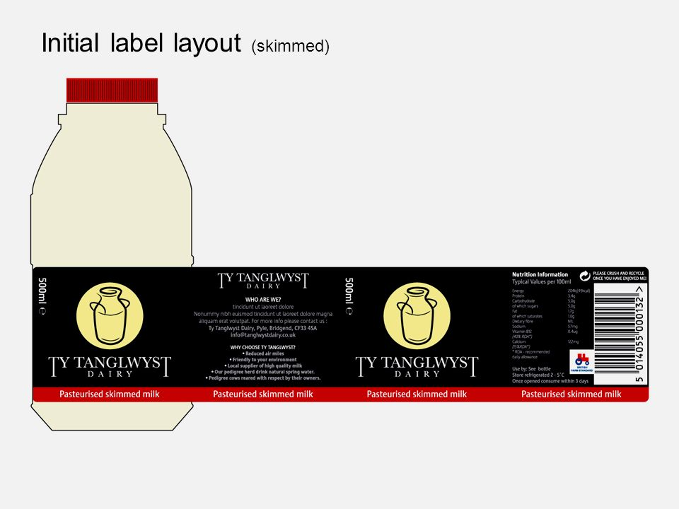 Initial label layout (skimmed)