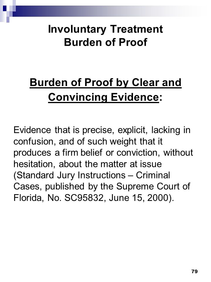Marchman Act Floridas Substance Abuse Impairment Law Ppt Download