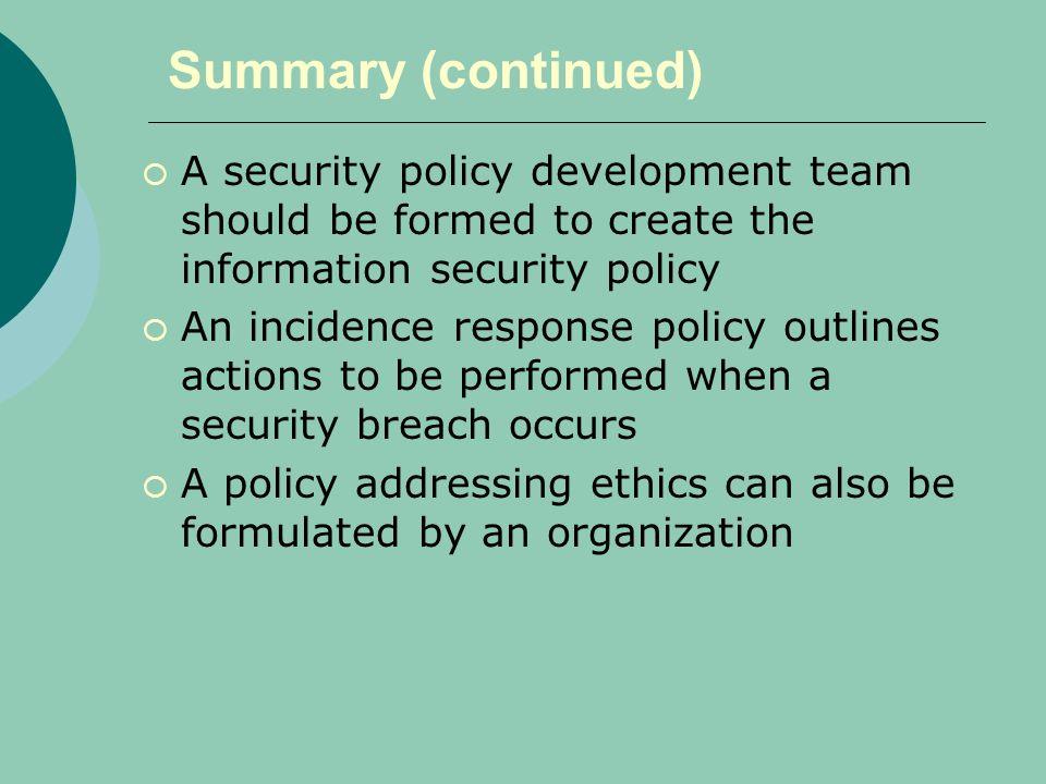 Chapter 11: Policies and Procedures - ppt video online download