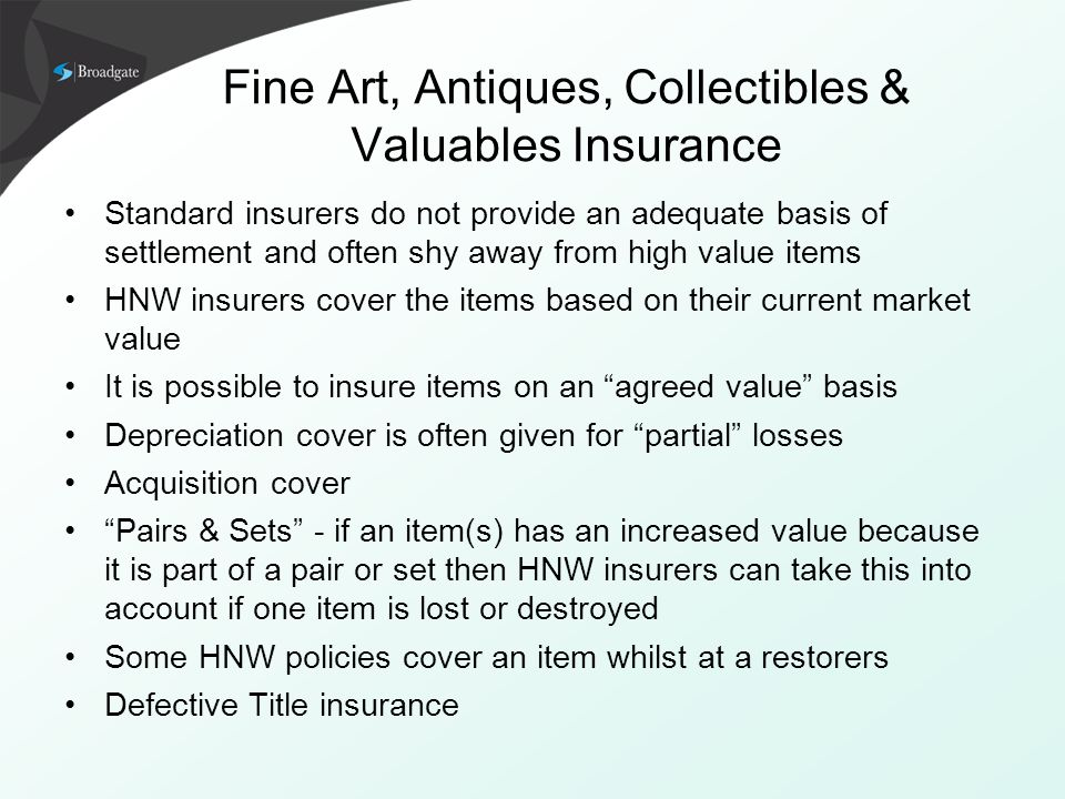 Defective Title Indemnity Insurance in the Residential ...