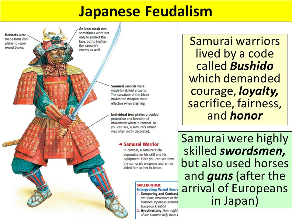 a comparison of european knights and the samurai warriors Medieval knights came from europe, you might argue the continent of warfare & for century's & century's & century's they perfected the art of fighting so how do we now have this cult of the samurai (or ninja lol) instead of our own fighting (& very successful) art.