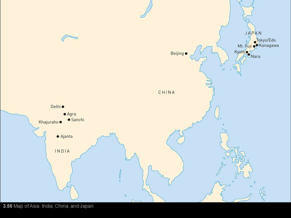Map Of Asia India.3 56 Map Of Asia India China And Japan Ppt Video Online Download