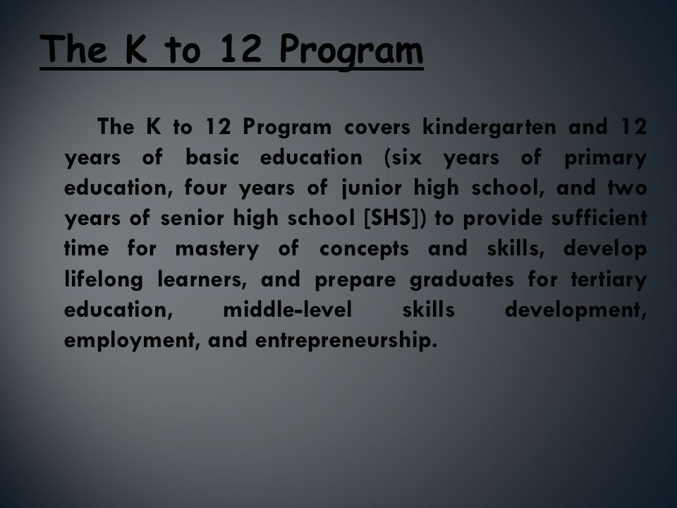 The Philippine Educational System Ppt Video Online Download