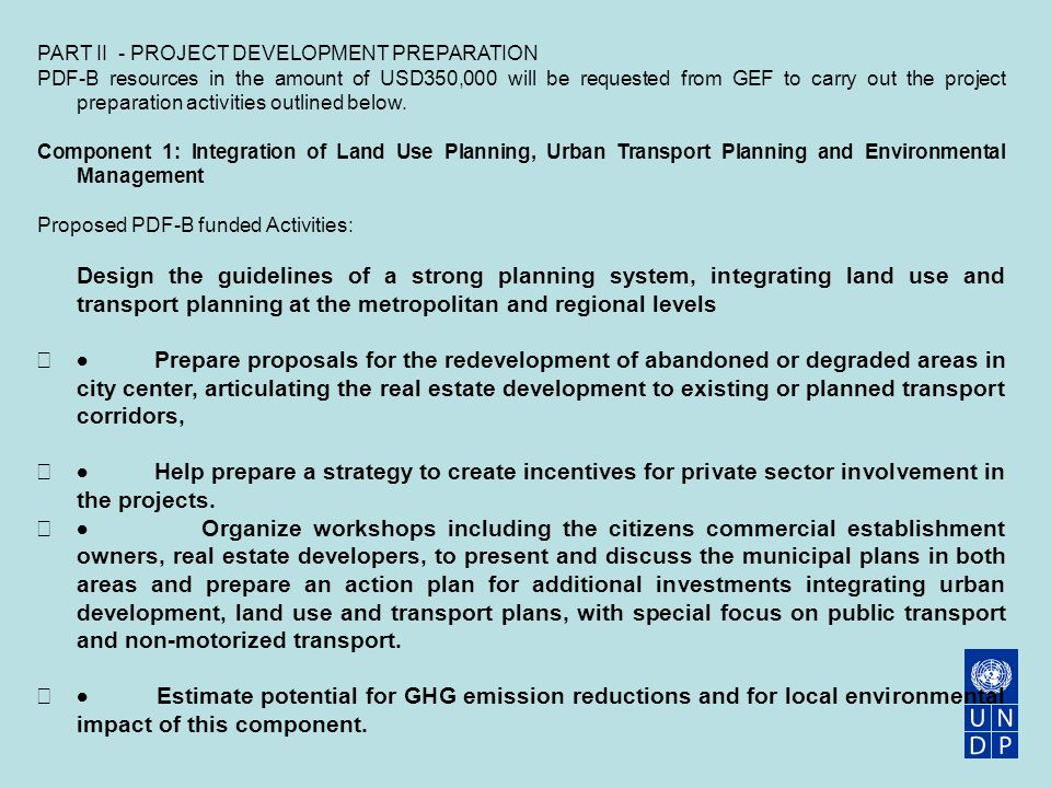 GEF 4  Sustainable Mobility - ppt video online download