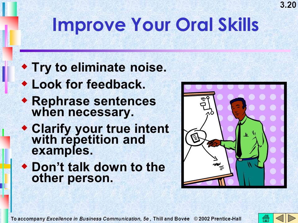 Improve Your Oral Skills
