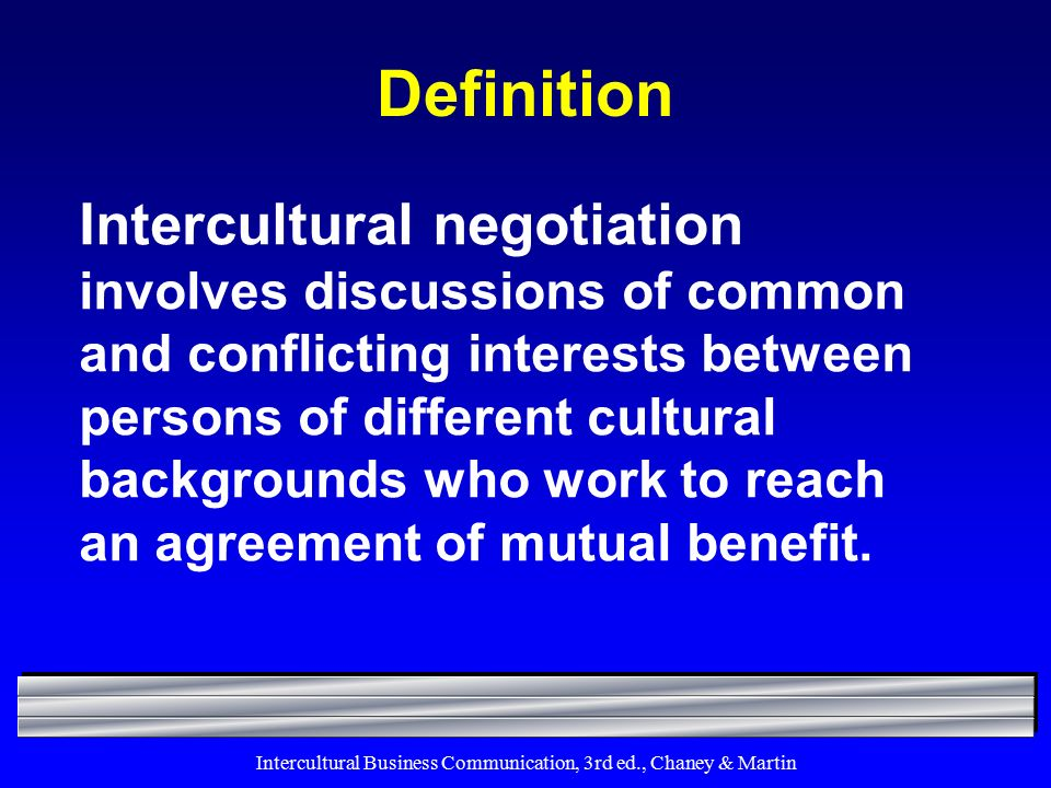 intercultural communications 3 essay Within us borders as well, the face of business is becoming more and more intercultural in 2007, hispanics owned 23 million businesses in the united states, an increase of 44% from 2002 these firms accounted for 16% of total us employment  chapter 11 intercultural communication in organizations 377 possess value systems, exist in.