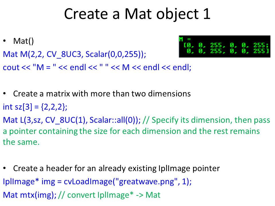 Lecture 10 – Image Processing with OpenCV JJCAO - ppt video