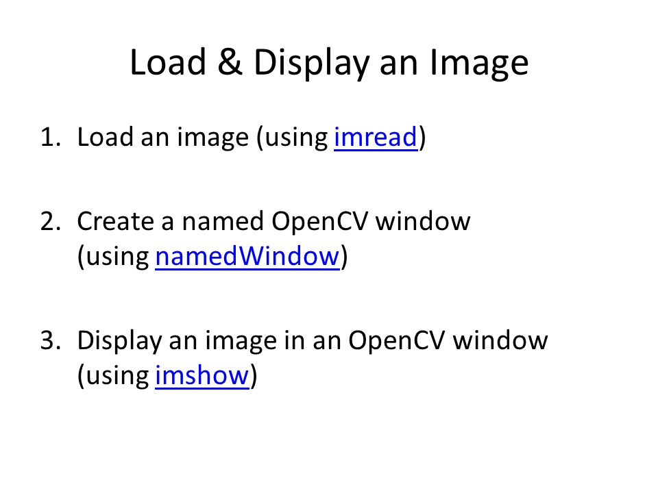 Lecture 10 – Image Processing with OpenCV JJCAO - ppt video online