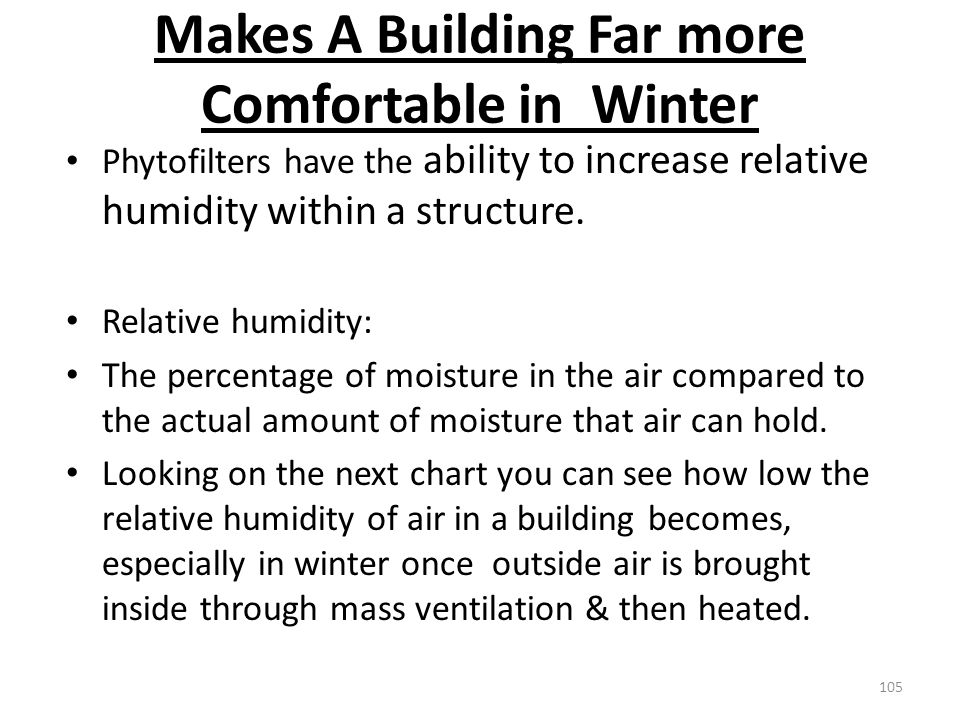 Makes A Building Far more Comfortable in Winter