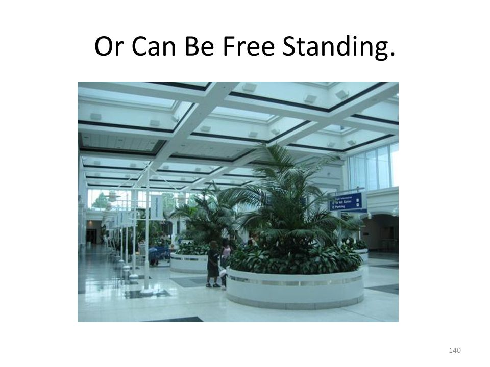 Or Can Be Free Standing.