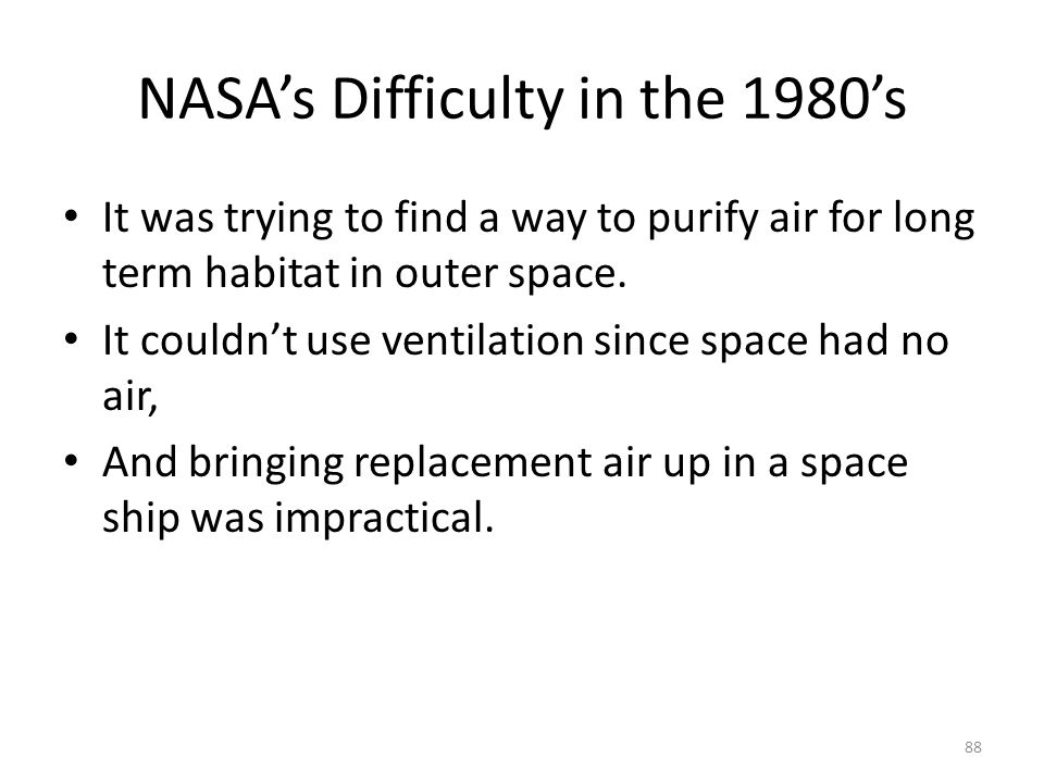 NASA's Difficulty in the 1980's