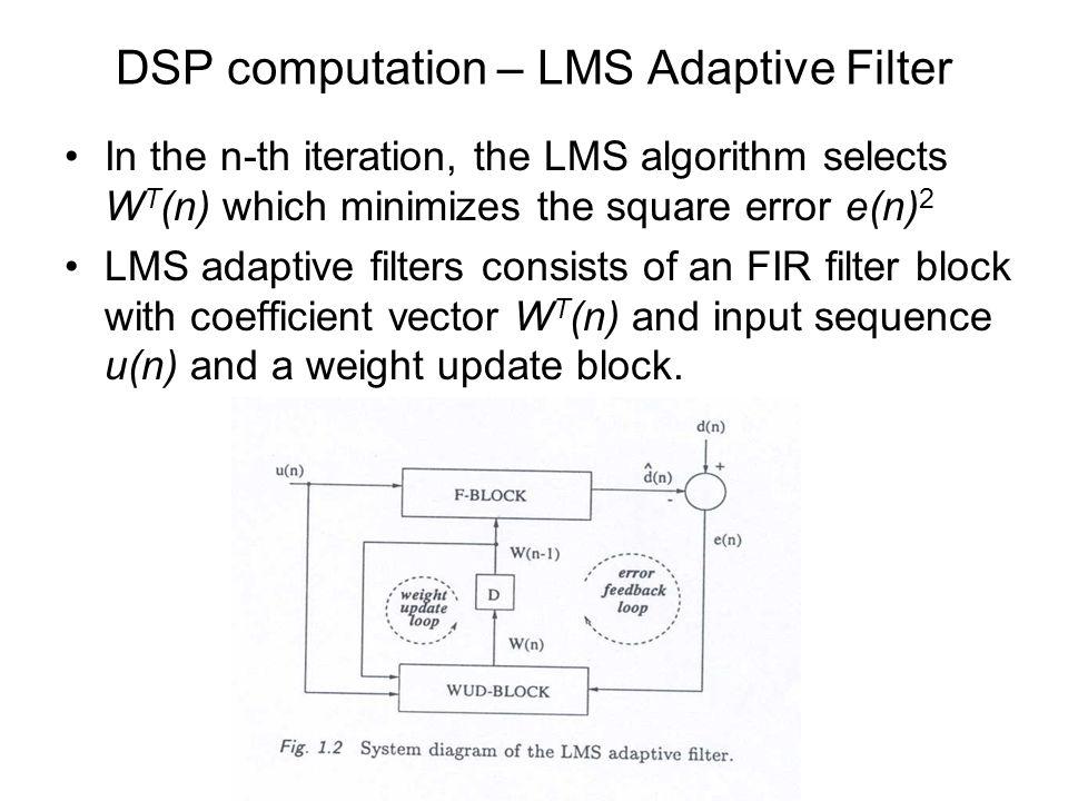 ELEC692 VLSI Signal Processing Architecture Lecture 1 - ppt