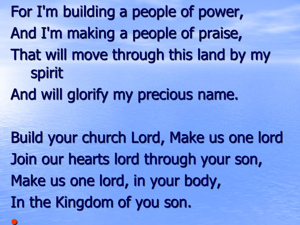 Welcome Holy Spirit , We are in your presence. - ppt video online ...