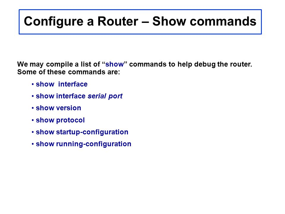 Cisco Router MODES Configuration Prompt Interface Router