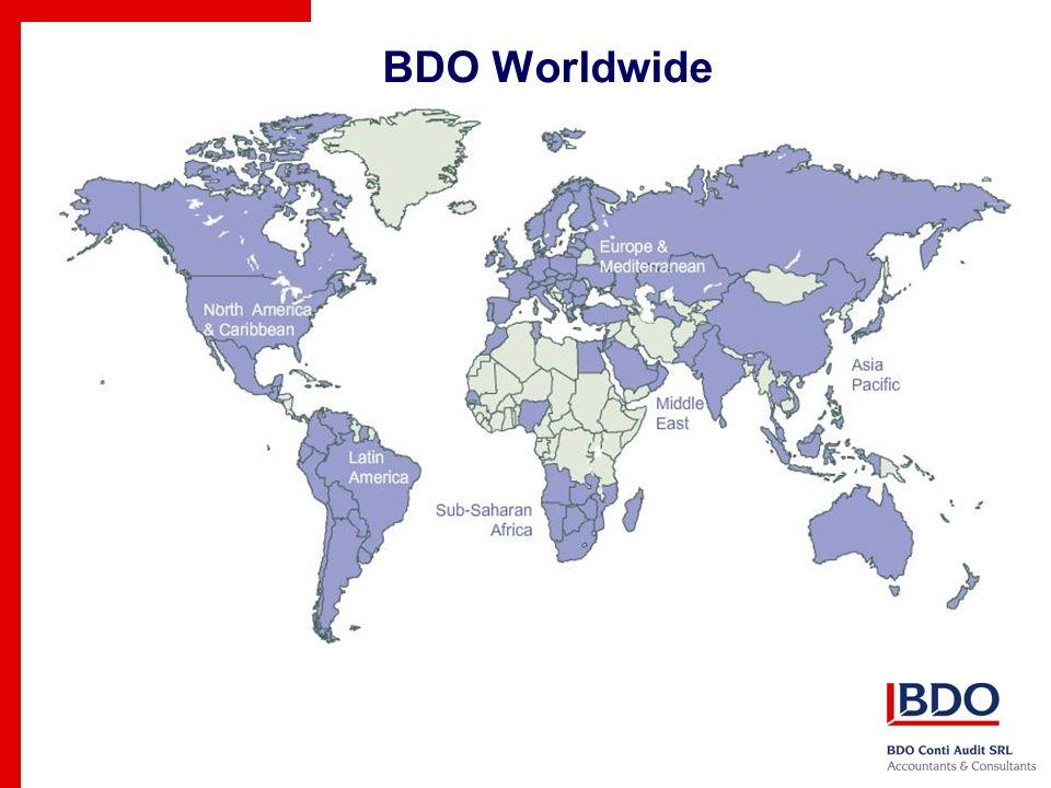 BDO Who we are?  BDO Who we are? Who is BDO? BDO
