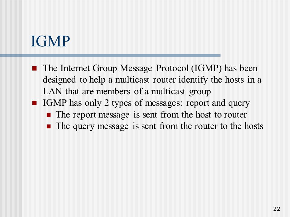 Module 7: ip multicasting ppt video online download.