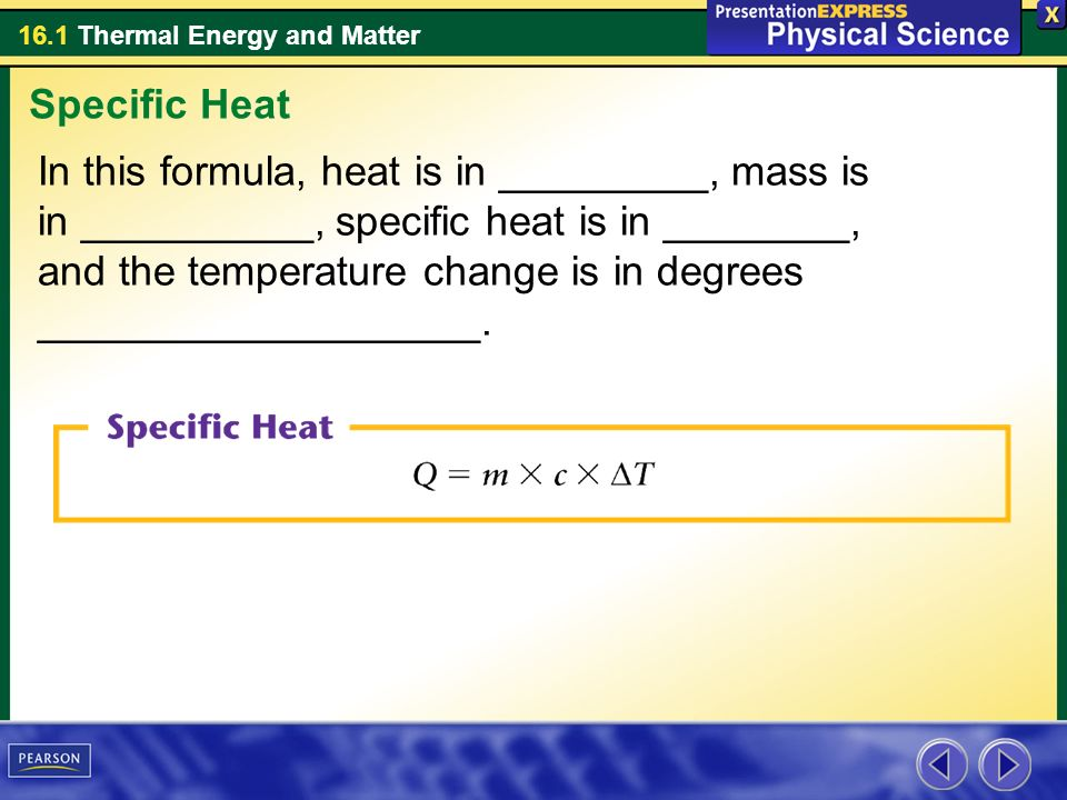 Chapter 16 Thermal Energy And Heat Ppt Download