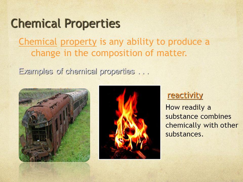 9 Chemical Properties