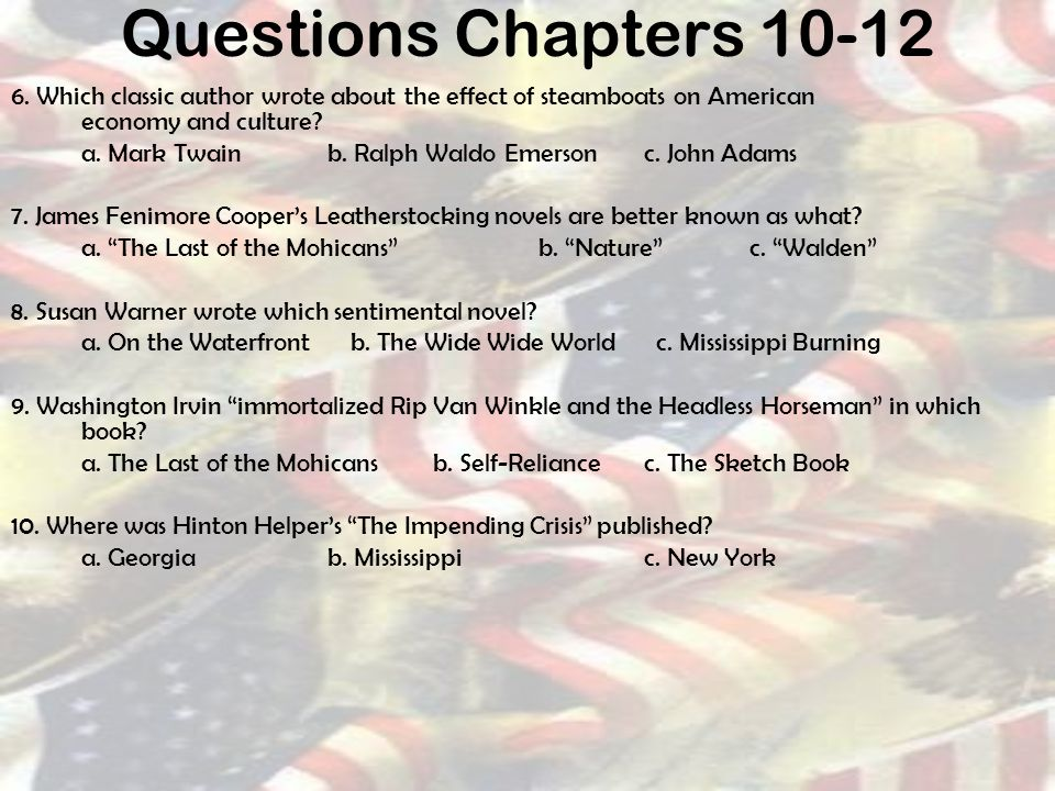 History Of American Literature Ppt Download