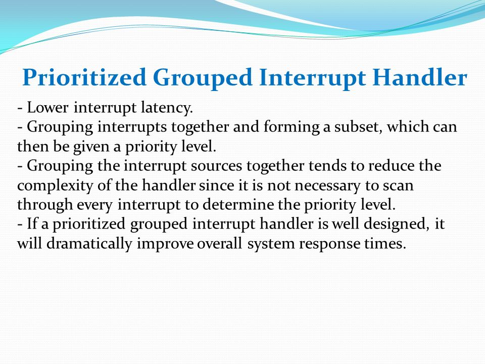 Exception And Interrupt Handling Ppt Video Online Download