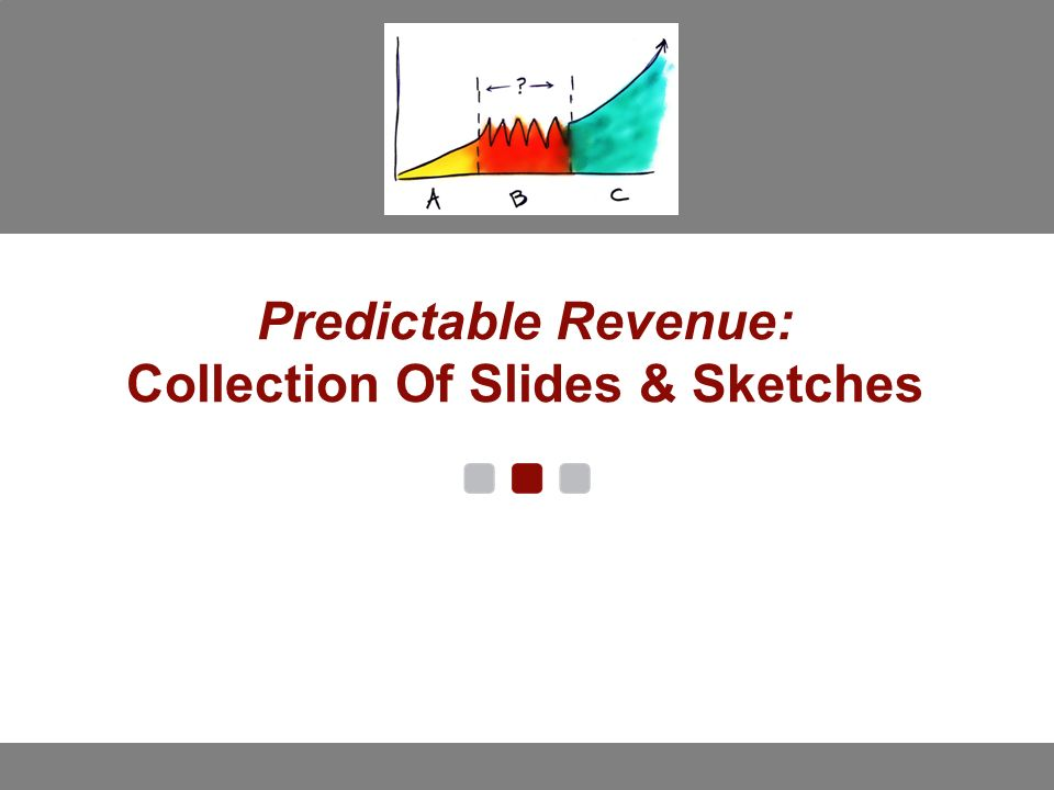 Predictable Revenue: Collection Of Slides & Sketches - ppt download