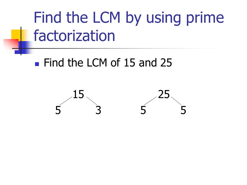 Least Common Multiple. - ppt video online download