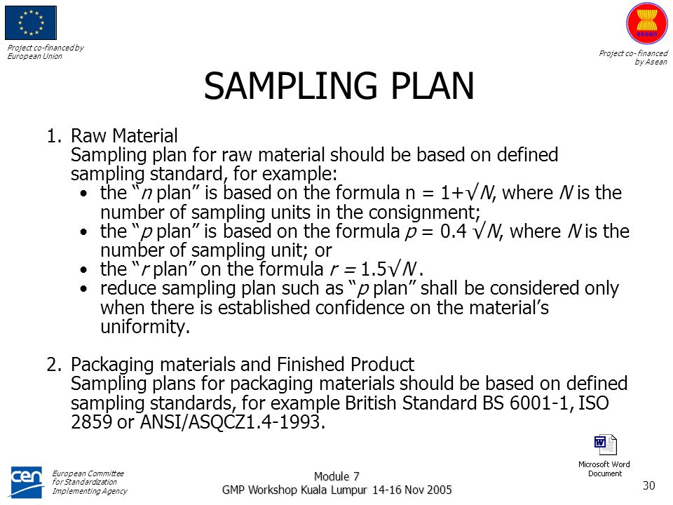 ASEAN GMP TRAINING MODULE QUALITY CONTROL - ppt download | 960 x 720 jpeg 121kB