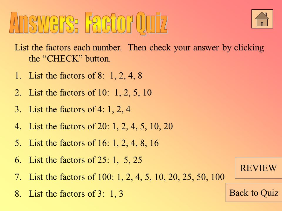 Prime Factorization Factor Trees Greatest Common Factor Ppt Video Online Download The number 50 has three factor pairs, which are two numbers that can be multiplied together to these factor pairs are 1 and 50, 2 and 25 and 5 and 10. prime factorization factor trees