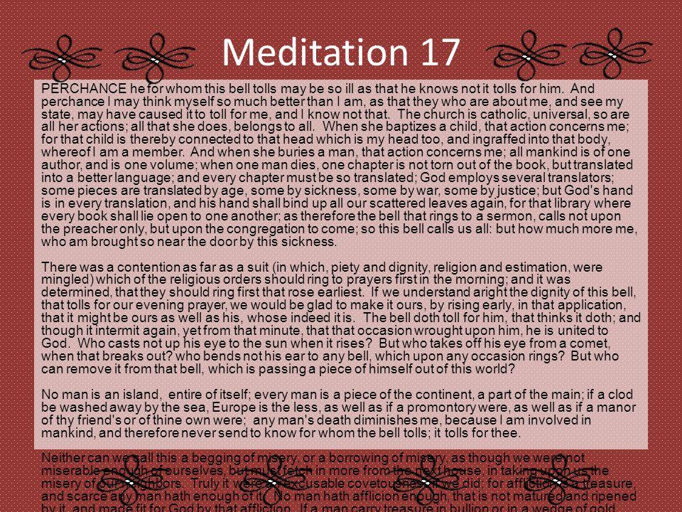 Meditation 17 essays cheap critical thinking ghostwriting site uk