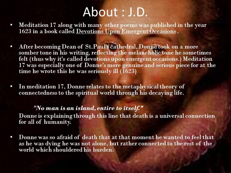 john donne meditation 17 analysis