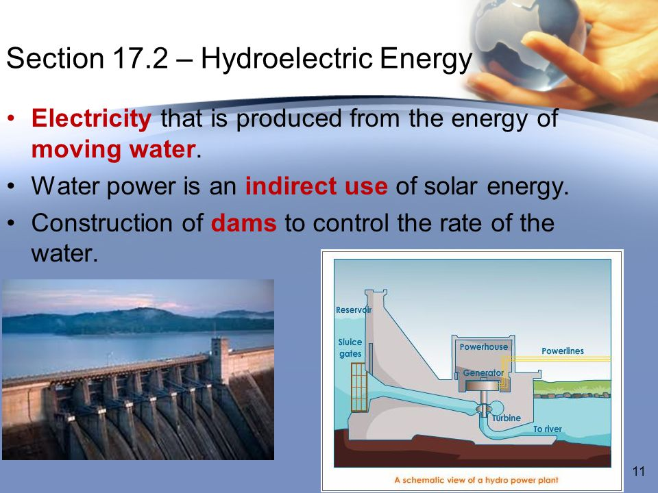 Section 17.2 – Hydroelectric Energy
