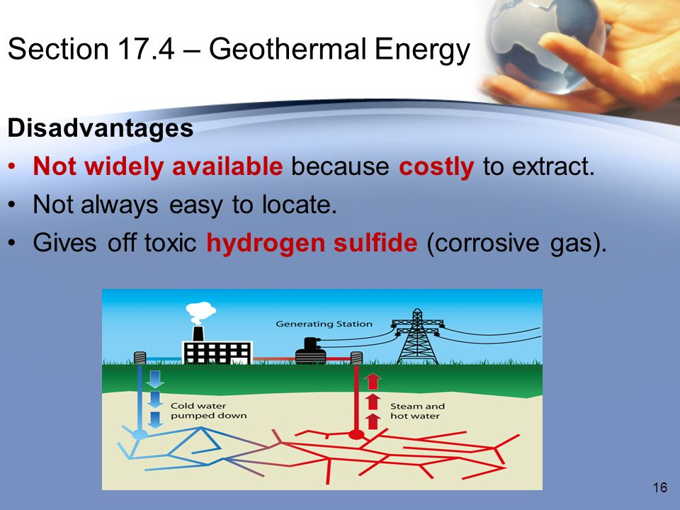 Section 17.4 – Geothermal Energy