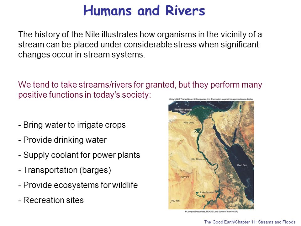 Humans and Rivers