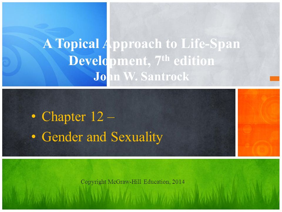 Chapter 12 – Gender and Sexuality