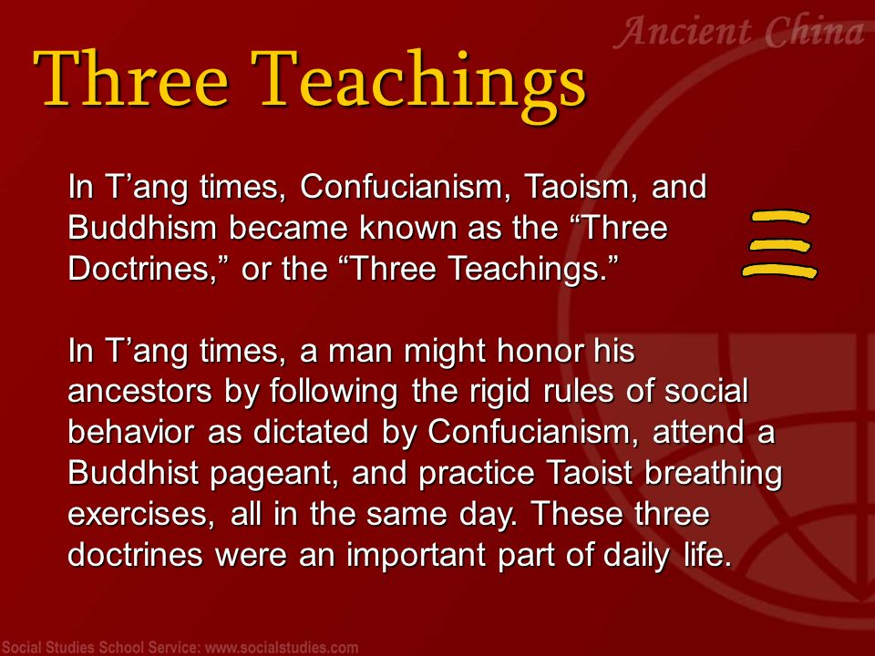 confucianism vs buddhism essays Confucianism, also known as ruism, is described as tradition, a philosophy, a religion, a humanistic or rationalistic religion, a way of governing,  in the late tang, confucianism developed in response to buddhism and taoism and was reformulated as neo-confucianism.