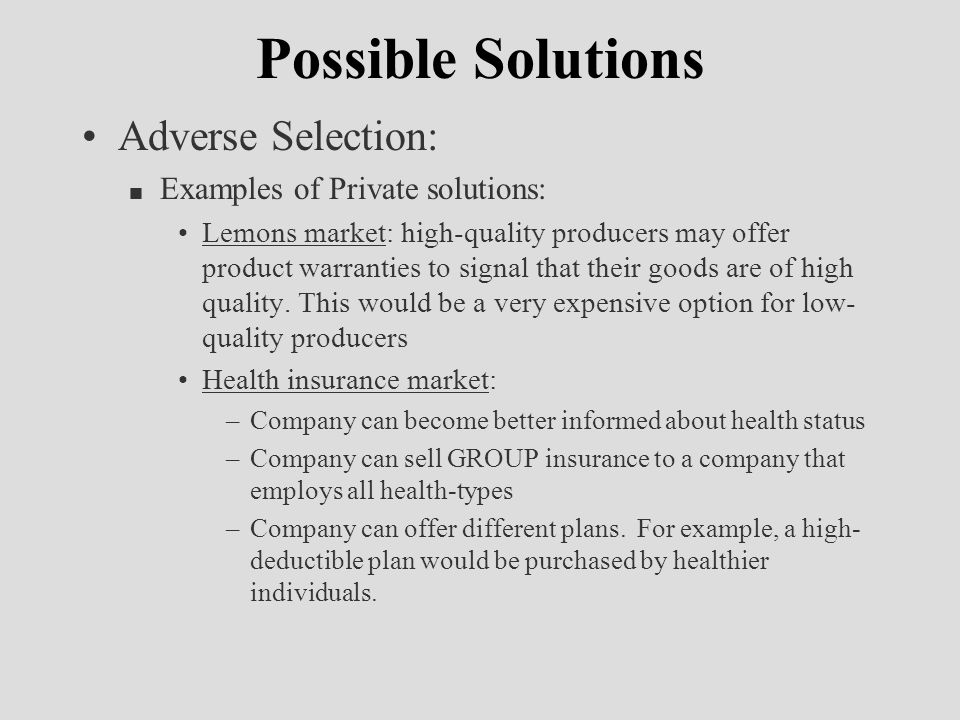 Market Failures And The Role Of Government Ppt Download