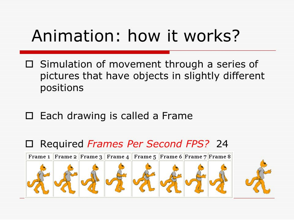 Intro to Animation What is animation? - ppt download