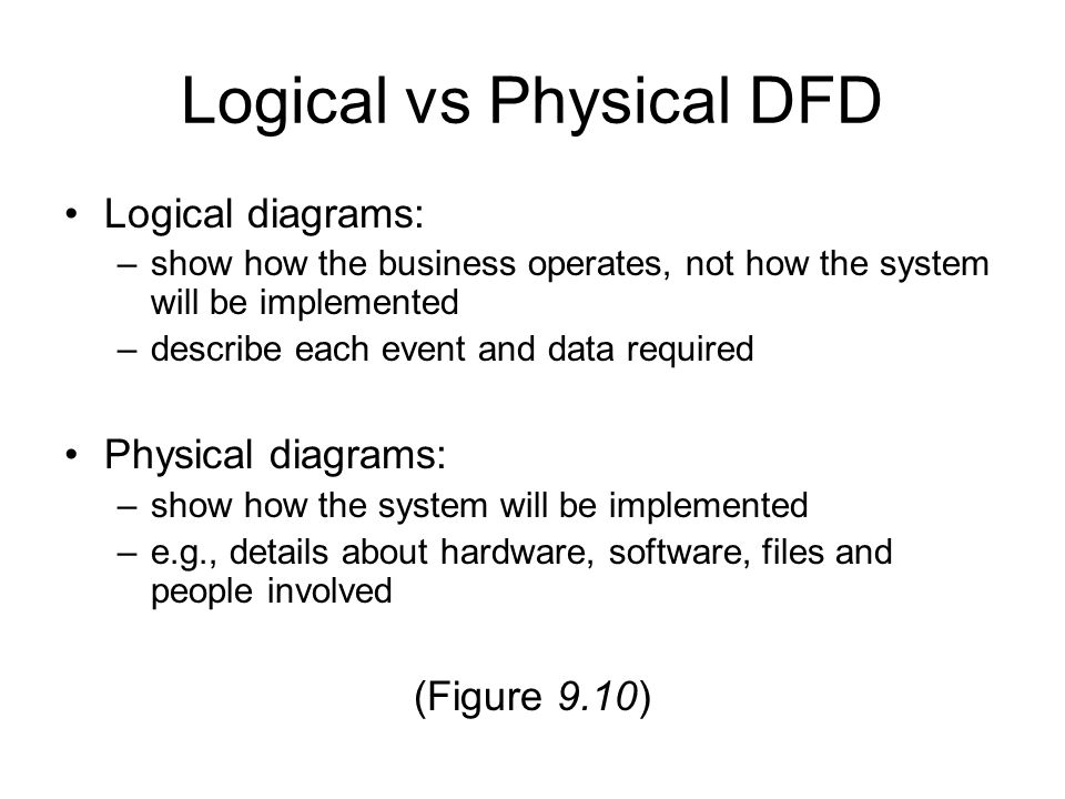 Software Engineering Data flow diagrams  - ppt download