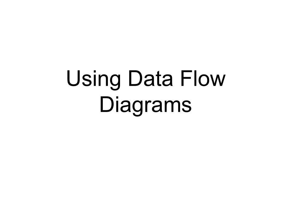 Software Engineering Data Flow Diagrams Ppt Download