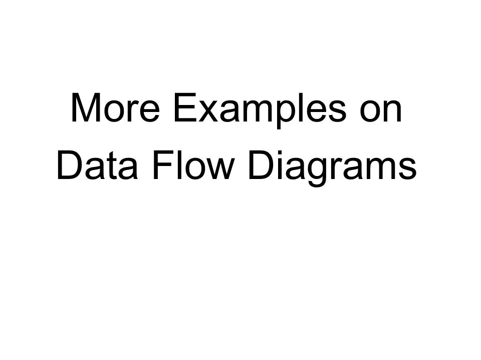 software engineering data flow diagrams