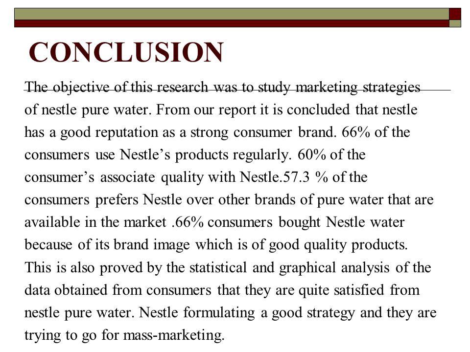 marketing plan conclusion