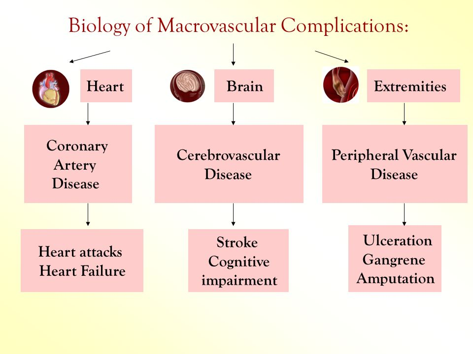 Biology of Macrovascular Complications: