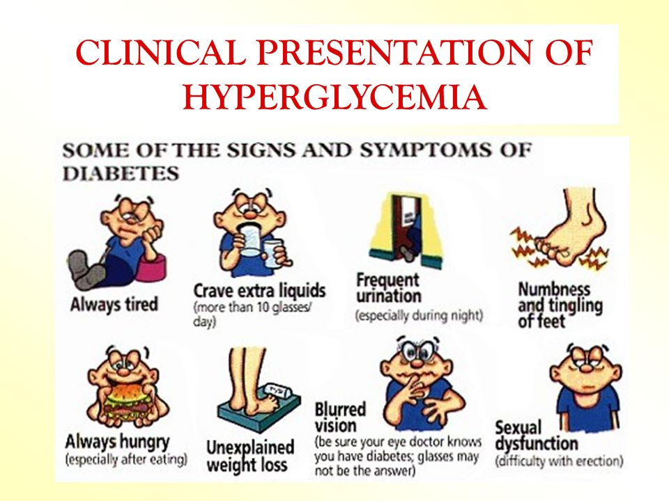 CLINICAL PRESENTATION OF HYPERGLYCEMIA
