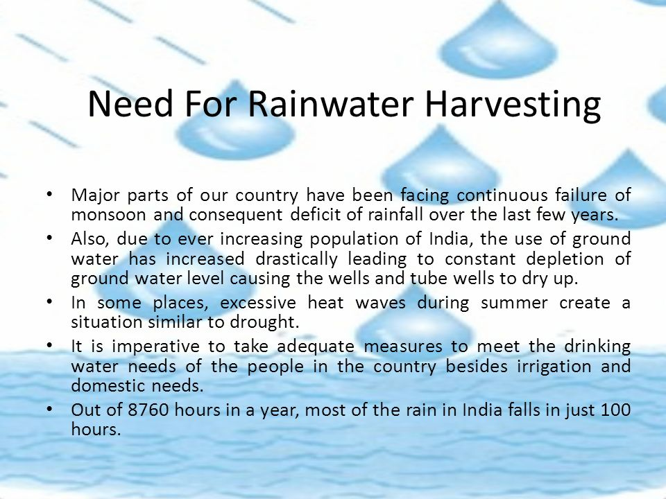 Rainwater Harvesting and Watershed Management - ppt video