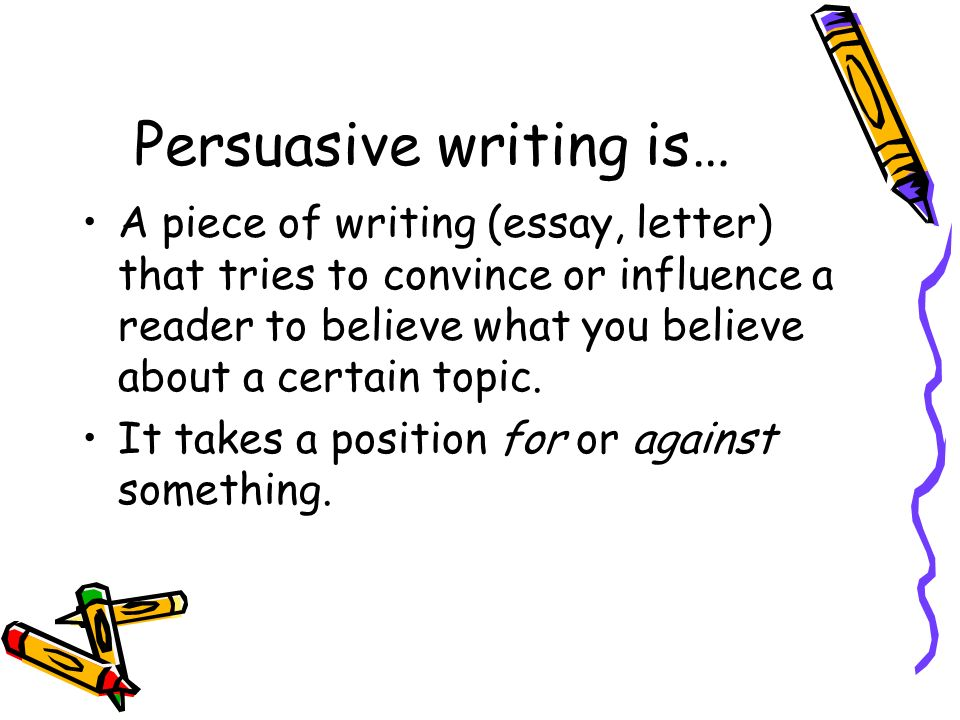 What is persuasive writing ppt video online download