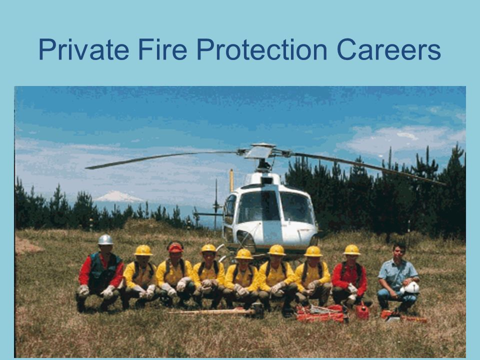 Private Fire Protection Careers