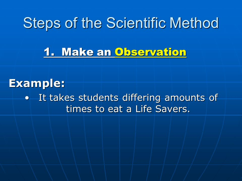 Experimental Design And The Scientific Method Ppt Video Online