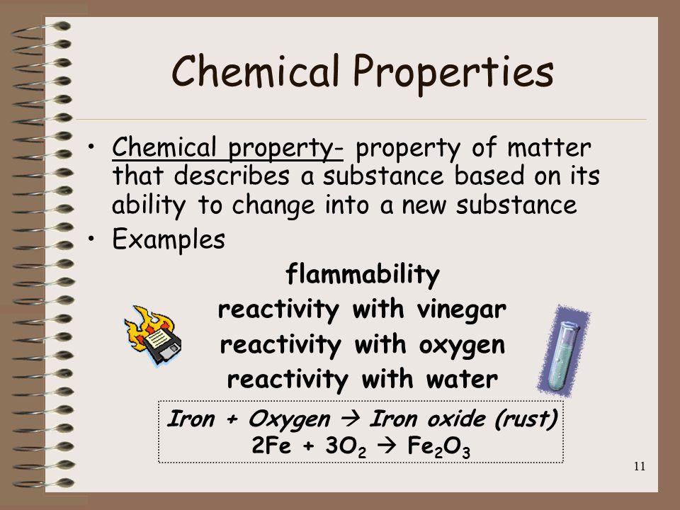 11 Chemical Properties