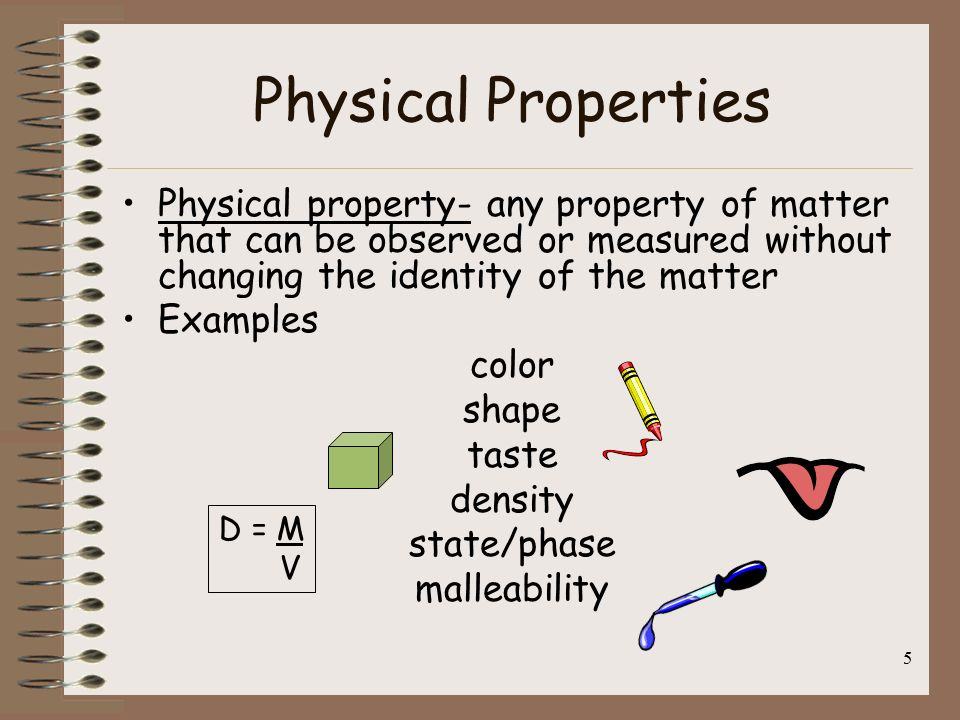 5 Physical Properties